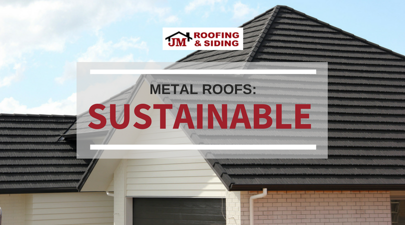 metal roofs are sustainable