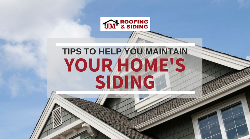 tips to maintain your siding