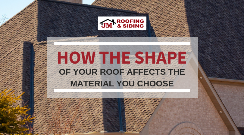 How Your Roof Shape Affects The Material You Choose